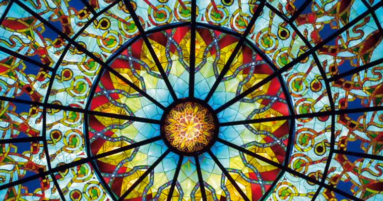 Stained Glass from Damanhur