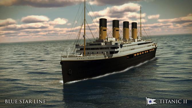 Titanic II Blue Star Line