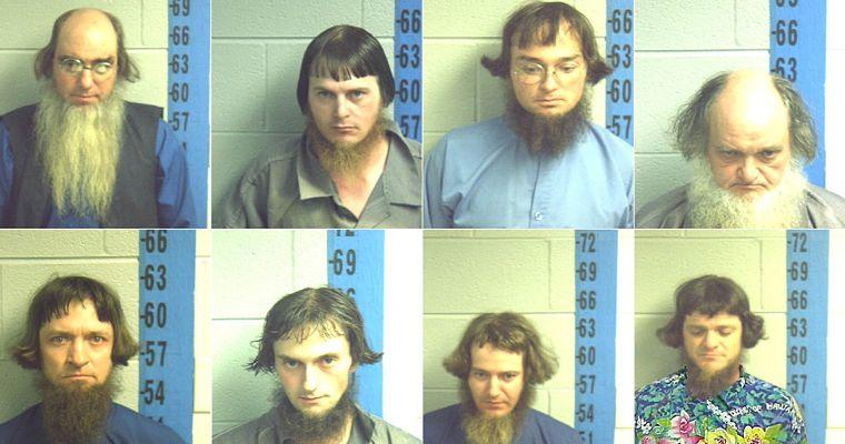 amish eight arrest