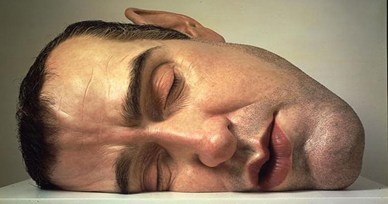 ron mueck head