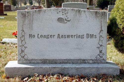 twitter headstone