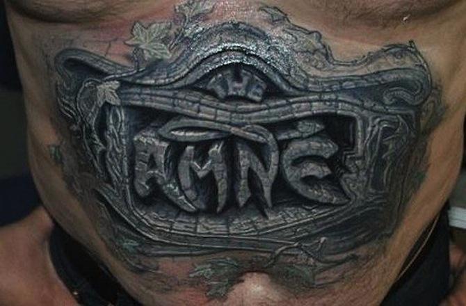 3D Tattoo 3