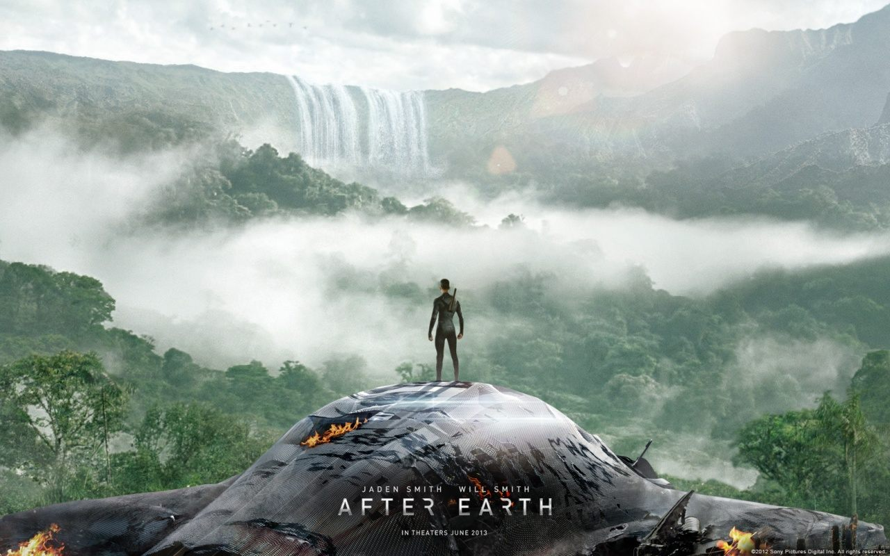 After Earth mit Will & Jaden Smith