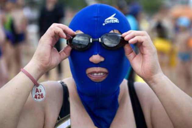 Blue Facekini