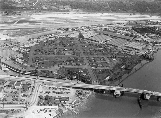 Camouflaged Town - Boeing Plant
