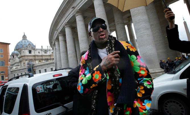 Dennis Rodman Vatican Featured