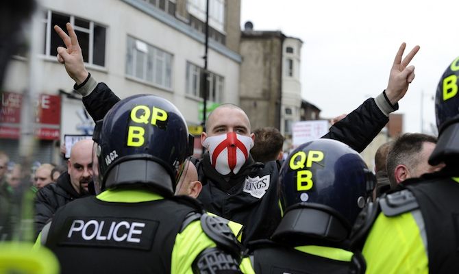 EDL March Manchester