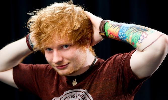 Ed Sheeran Faceplant