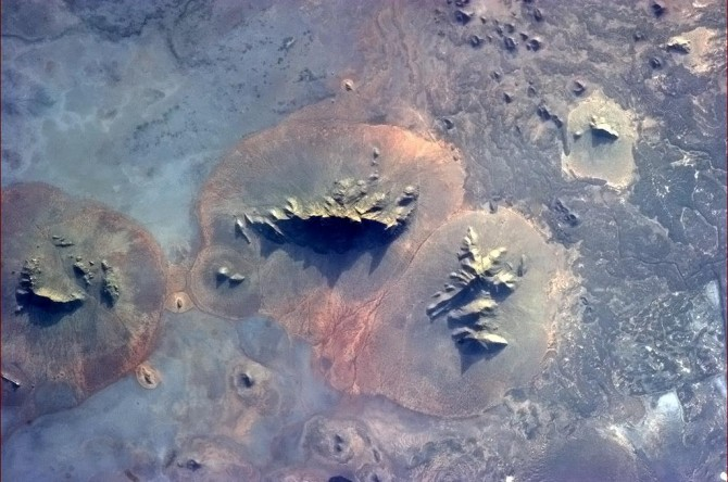 ISS - African Ridges