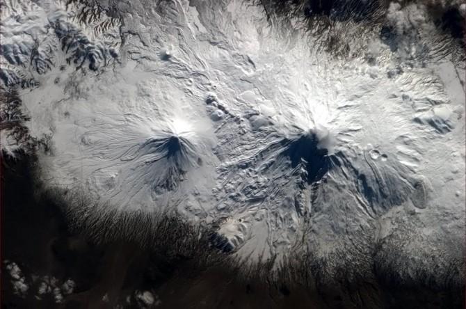 ISS - Armenian Volcanos