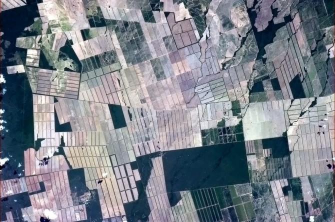 ISS - Brazilian Farming