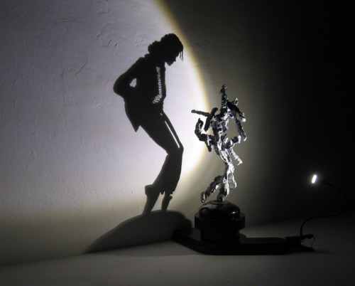 Michael Jackson Light Sculpture