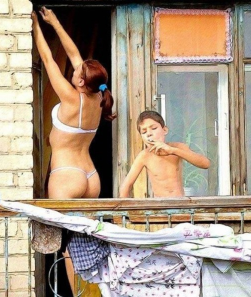 Russia With Love Photos - Young Smoker