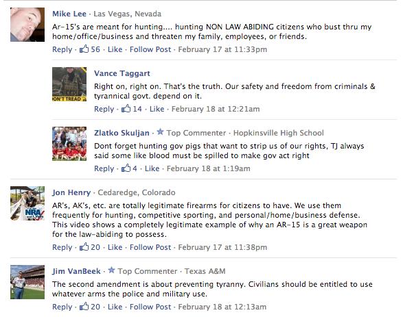 Gun Debate Screenshot