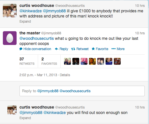 Curtis Woodhouse Twitter Screengrab 1