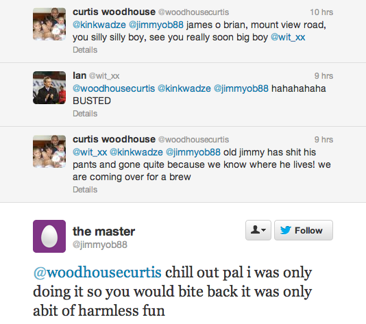 Curtis Woodhouse Twitter Screengrab 2