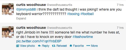 Curtis Woodhouse Twitter Screengrab 7