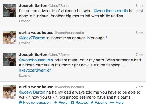Curtis Woodhouse Twitter Screengrab 14