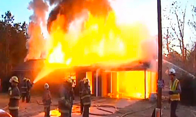 Snake Burns Down House 1