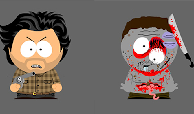 South Park Walking Dead