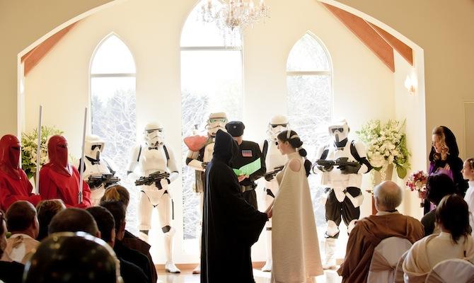 Star Wars Wedding
