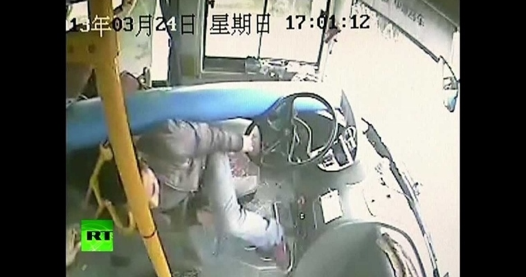 chinese bus driver