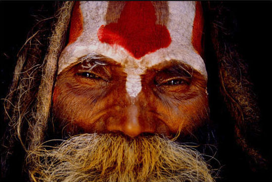 Aghori - Hindu - Cannibal - Close Up