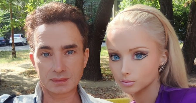 Yes Real life barbie doll girl amusing information