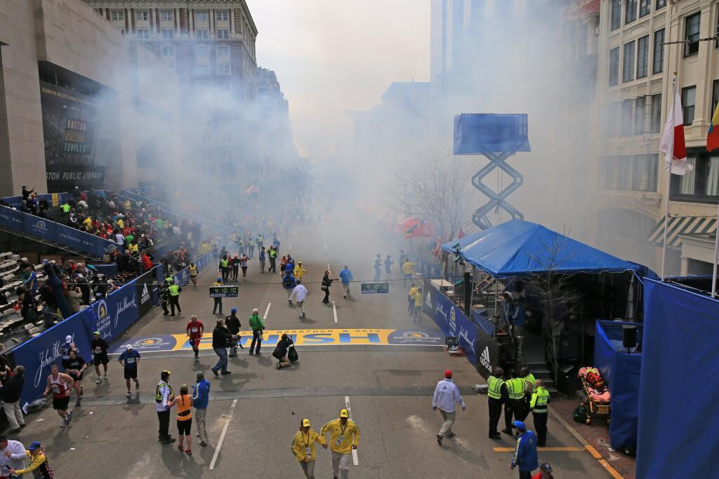 Boston Marathon Aftermath 7
