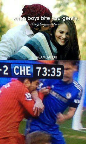 Luis Suarez biting 4