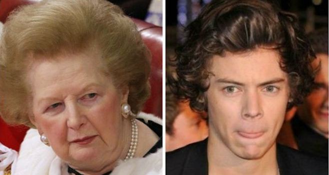 Margaret Thatcher Harry Styles