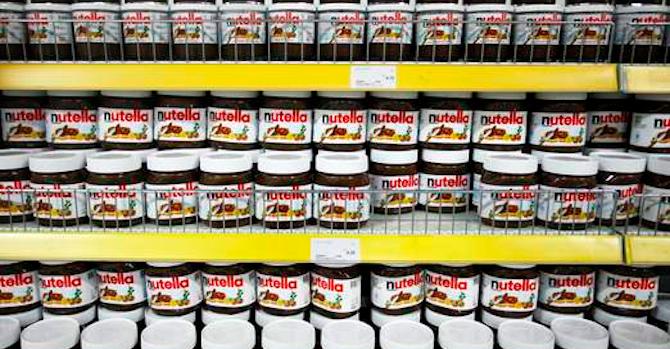 Nutella Heist