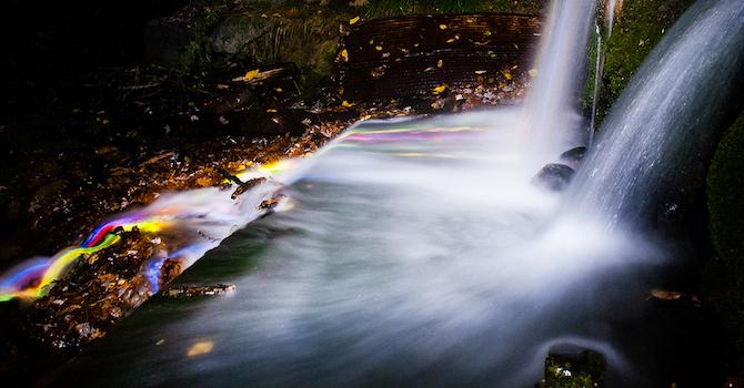Neon Waterfall 2