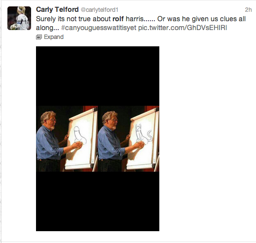 Rolf Harris Tweets 2