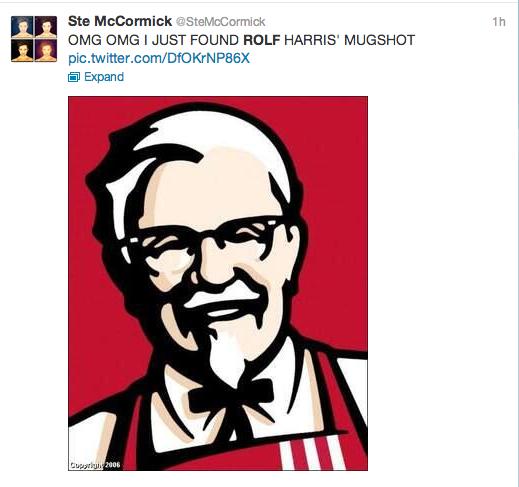 Rolf Harris Tweets 4