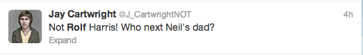 Rolf Harris Tweets 7