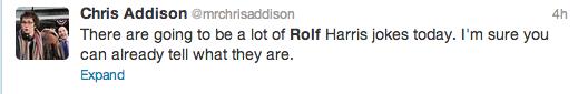 Rolf Harris Tweets 10