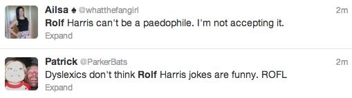 Rolf Harris Tweets 16