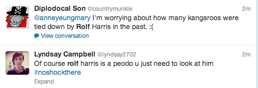Rolf Harris Tweets 17