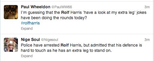 Rolf Harris Tweets 18