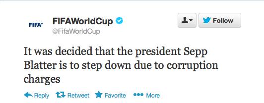 Sepp Blatter Twitter Hack 4