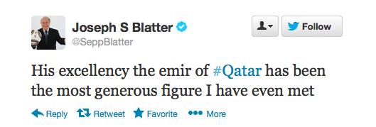 Sepp Blatter Twitter Hack 6