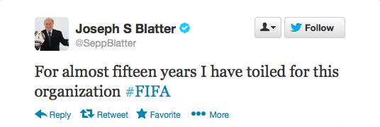 Sepp Blatter Twitter Hack 7
