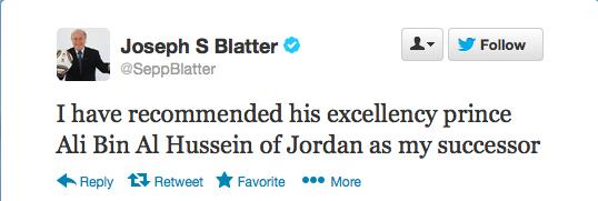 Sepp Blatter Twitter Hack 8