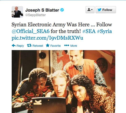 Sepp Blatter Twitter Hack 12