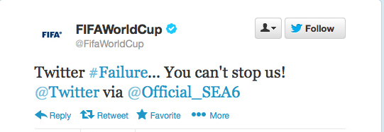 Sepp Blatter Twitter Hack 14