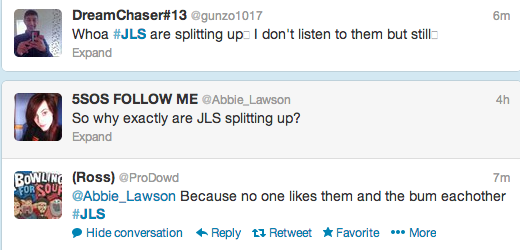 JLS Reaction Tweet 31