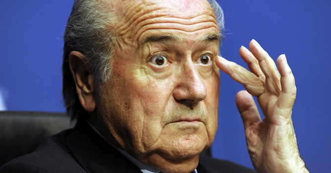 Sepp Blatter Hacked