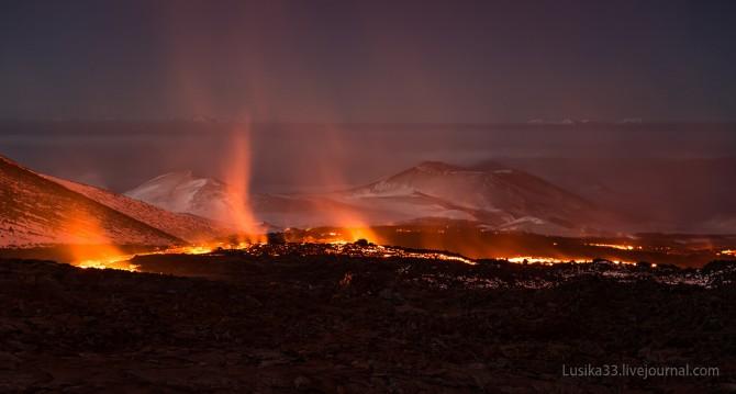 Tolbachic Volcano - Lusika33 - Burning Tundra