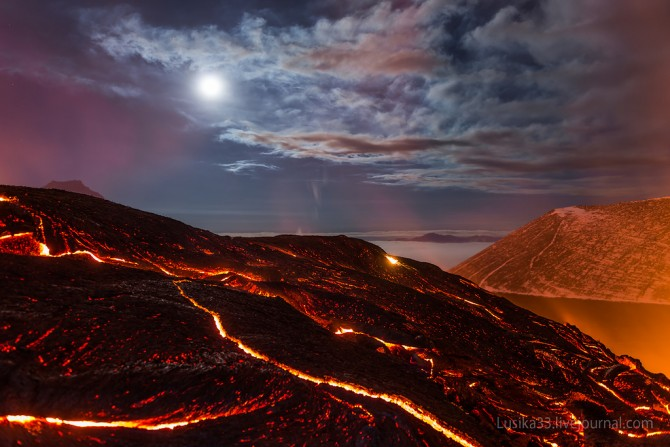 Tolbachic Volcano - Lusika33 - Misty Moon